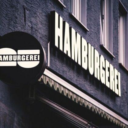 Hamburgerei Augsburg aussen
