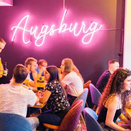 Hamburgerei Augsburg Gäste innen