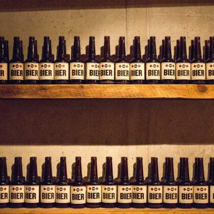Hamburgerei Haidhausen Bier Deko
