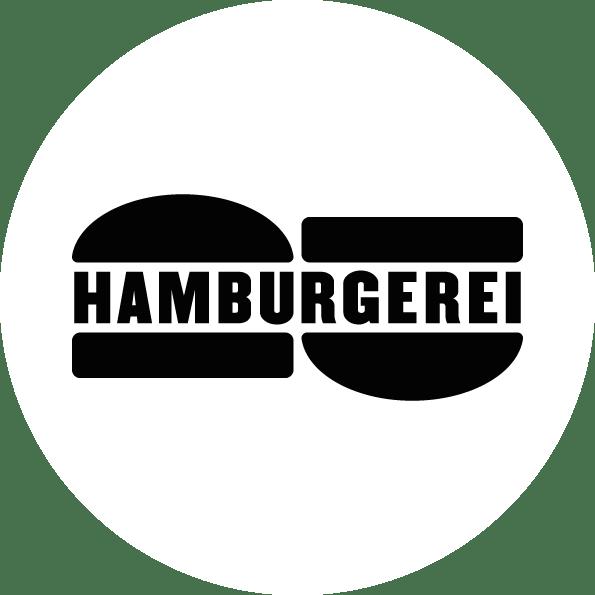 Hamburgerei Logo weiss